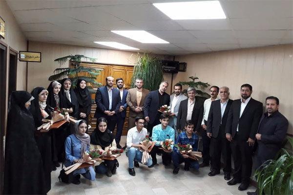 دانش آموزان اسلامشهری حائز رتبه برتر تقدیر شدند