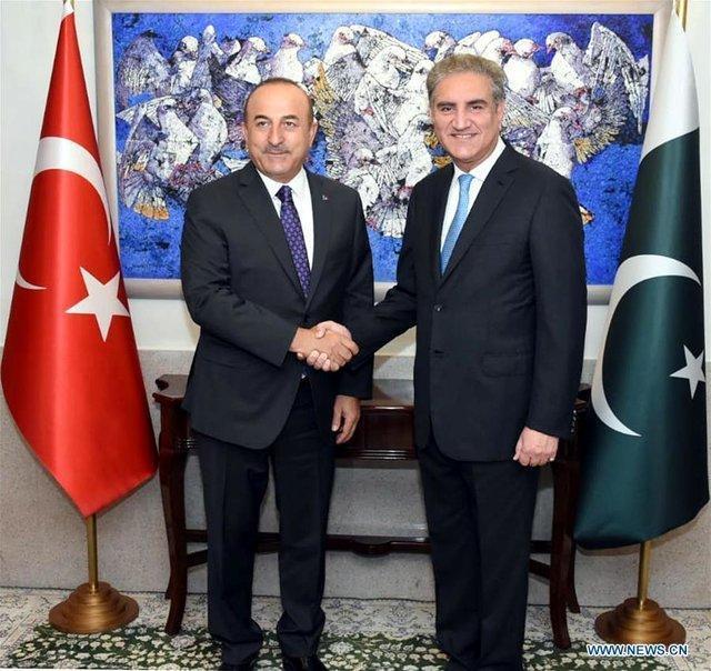 تقدیر وزیر خارجه ترکیه از نقش پاکستان در مبارزه با تروریسم