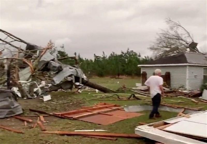 کشته شدن حداقل 23 نفر در طوفان سهمگین آلاباما