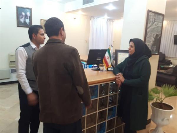 دبیر ستاد تسهیلات نوروزی فیروزآباد از کمپ های استقبال و خدمات رسان بازدید کرد