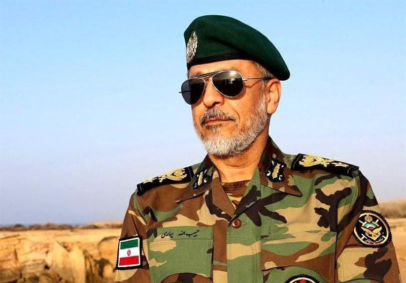 امیر سیاری: ترمیم سیل بند ها و جلوگیری از نفوذ آب اولویت ارتش در منطقه جنوب است