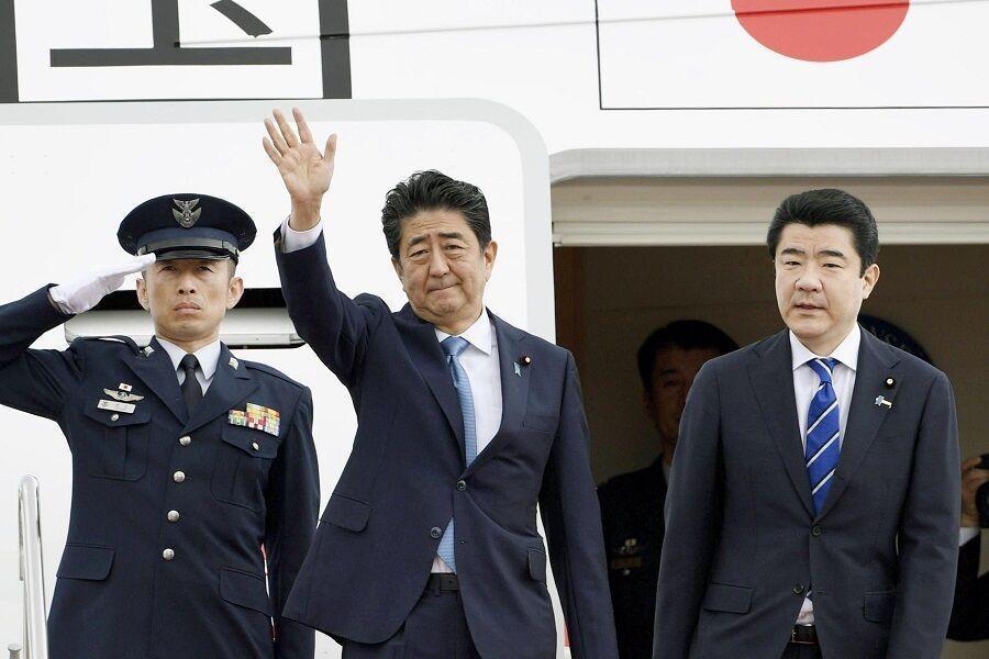 خبرنگاران نخست وزیر ژاپن راهی ایران شد