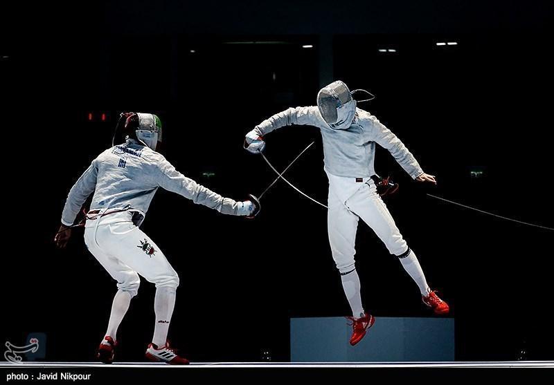 شمشیربازی قهرمانی جهان، تیم سابر ایران ششم شد