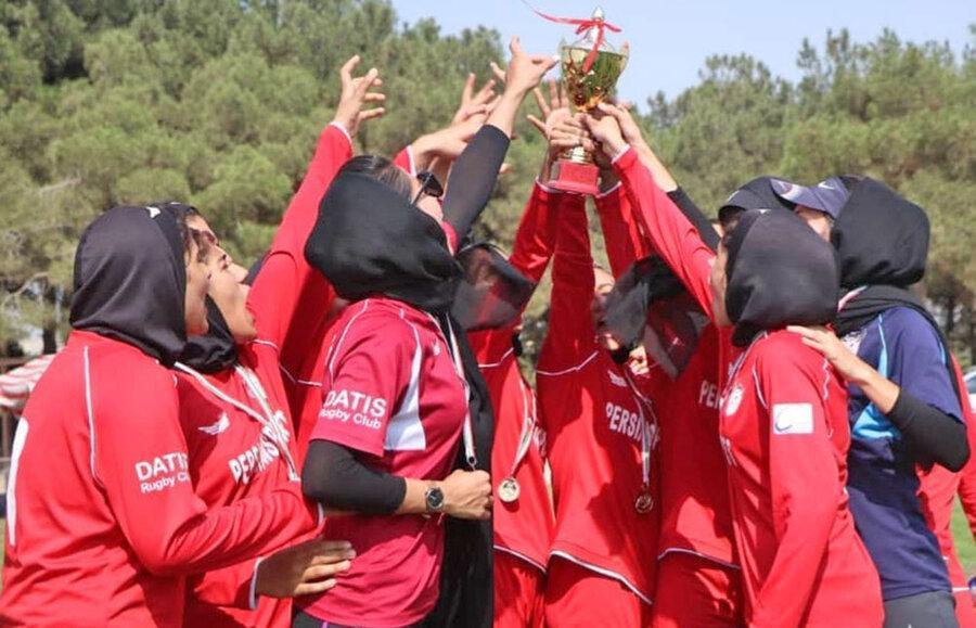 تیم داتیس تهران قهرمان راگبی دختران زیر 18 سال کشور شد