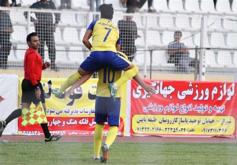 لیگ دسته اول فوتبال، پیروزی فجر سپاسی در خوزستان و تساوی دربی کرمان