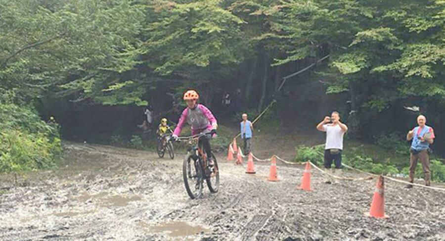 فرح بخشیان قهرمان مرحله آخر لیگ دوچرخه سواری کوهستان شد